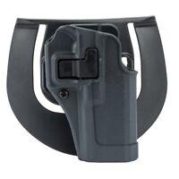 BlackHawk 413502BK-L Serpa Sportster Holster Gunmetal Gray LH for Glock 19