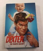 Dexter The Fourth Season Complete Boxed Set DVD 4 Disc Showtime