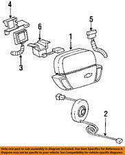 Chevrolet GM OEM 92-93 Beretta Supplemental Restraint System-Sensor 16089081