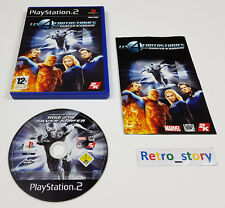 PS2 Les 4 Fantastiques Et Le Surfer D'Argent PAL