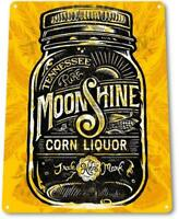 """Tennessee Moonshine"" Decor Liquor Whisky Bar Distiller Shop Store Sign"