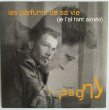 """FLORENT PAGNY - CD SINGLE PROMO """"LES PARFUMS DE SA VIE (JE L'AI TANT AIMÉE)"""""""
