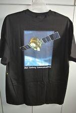 Milstar DSCS III SLEP Satellite Launch Full Color Black T-shirt/NWOT