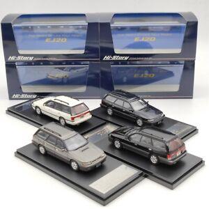 Hi-Story 1/43 Subaru Legacy Touring Wagon GT 1989 HS284 Resin Model Limited