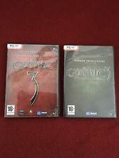 Gothic 3 And Forsaken Gods Expansion Pc Dvd Rom