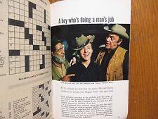 Nov. 7-1964 TV Guide(MICHAEL BURNS/LAURA GREENE/RICHARD CHAMBERLAIN/LESLIE CARON