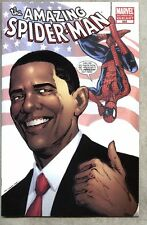 Amazing Spider-Man #583-2009 vf/nm Obama 4th cover version