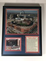 Busch Stadium III Commemorative 11x14, St. Louis Cardinals