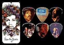 Jim Dunlop JDJHPT07M Jimi Hendrix Hear My Music Guitar Pick Tin - JD-JHPT07M