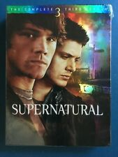 Supernatural: Season 3 (DVD, 2007, 5-Disc Set) NEW AND SEALED