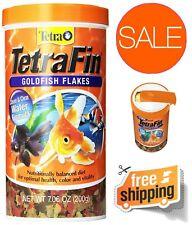 New listing TetraFin Healthy Goldfish Flake Food Balanced Diet Optimal Health Clear Water