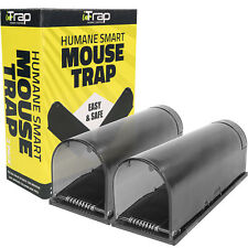 iTrap Humane Live Catch & Release Smart Mouse Trap Safe Around Pets Children x2