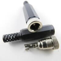 Hohlsteckerbuchse DC männlich male 5,5 2,1 mm Buchse Adapter plug Stecker Power