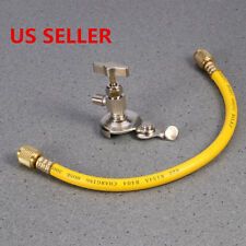 R12 R22 R134A  Can Tap Tapper A/C Refrigerant Recharge Charging Hose Car Auto