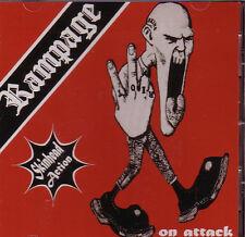RAMPAGE – ON ATTACK CD punk oi! Vortex Onkelz