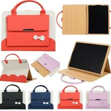 For iPad23456 mini Air12 Pro11'' Carrying Handbag Smart Leather Stand Case Cover