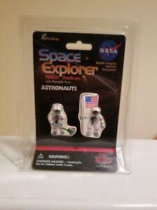 SPACE EXPLORER ASTRONAUTS RARE ACTION FIGURE NASA REPLICAS #30016 PLAY VISIONS