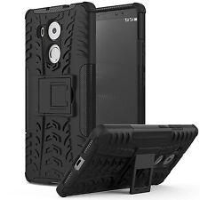 "Huawei Mate 8 Case Cover 6"" 2015 Kickstand Hard Shockproof Holster Bumper Black"