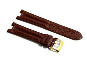 Cinturino orologio vera pelle marrone compatibile breil pareo tribe 20mm watch