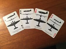 Rare 1943 Playing Cards,produced for Department Of Navy, Aircraft Photos.