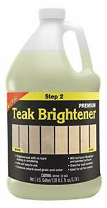 Teak Brightener,safe And Easy To Use,not Harm Fiberglass And Painted Surfaces
