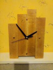 Beech wood Handmade Clock