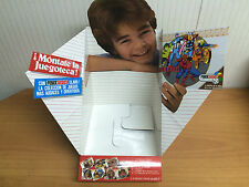caja vacia expositor para guardar 8 juegos de mesa feber