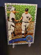2011 Topps #450 Mickey Mantle Diamond Anniversary Silver Sparkle / Yankee Legend