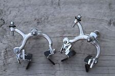 Campagnolo Super/ Nuovo Record brakes nutted with drop bolts VGC 55-68mm reach