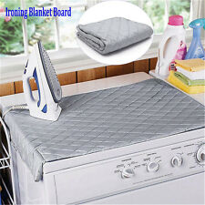 Table Top Folding Portable Caravan Travel Ironing Blanket Board Cover Mat KP