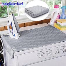 Table Top Folding Portable Caravan Travel Ironing Blanket Board Cover Mat KP