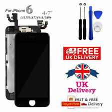 LCD Complete Full For iPhone 6 Black Touch Screen Replacement Digitizer Camera