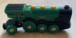 Brio World Action Locomotive - Green