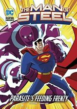Parasite's Feeding Frenzy (DC Super Heroes: The Man of Steel) - Very Good Book P