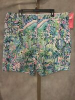 NWT Lilly Pulitzer Men's Beaumont Stretch Short Lilly's House 42R Free Shipping