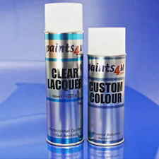 VOLKSWAGEN 400ml Colour And Clear Aerosol Spray GRAUWEISS -RAL 9002- R902