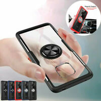 For Huawei Mate 20 X Lite Mate 10 Pro 9 Shockproof Ring Holder Stand Case Cover
