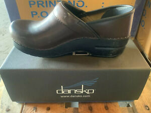 Women shoe Dansko Professional Hickory CABRIO Brown Comfort Clog Nurse Loafers
