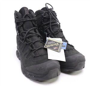 Salomon Quest 4D GTX Forces Boots 11.5 REG Black GoreTex Waterproof Hiking