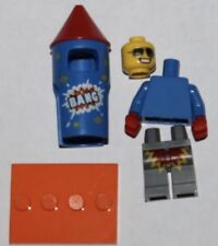 Lego 71021 Series 18 Fireworks Guy In Hand