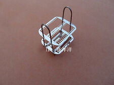Stainless Steel Staining Rack Stand ,put 30pcs glass microscope slides J374 lx