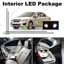 White LED Lights Interior Package Kit for Subaru Impreza wrx 2004-13 ( 6 Pcs )
