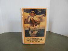 The Adventures of Huckleberry Finn by Mark Twain; HBDJ 1923