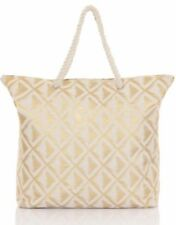 Metallic Tote with Magnetic Snap Handbags