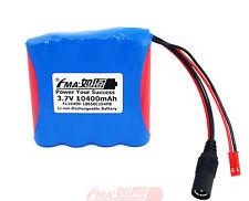 Japan 18650 1S4P 3.7V 10.4Ah Li-ion battery pack+ DC 4.2V 2.5A Smart Charger