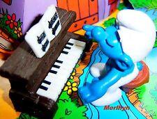40229 super Schtroumpf schtroumpfette piano smurf pitufo puffo puffi rarissime