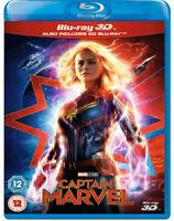 CAPTAIN MARVEL [Blu-ray 3D + 2D] UK Exclusive 3D Release Marvel Studios Avengers