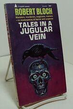 Tales in a Jugular Vein by Robert Bloch - First edition