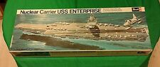 REVELL Nuclear Carrier USS ENTERPRISE Nave Portaerei  VINTAGE 1960/70   01/18