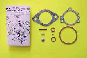 Chrysler Force Mercury Tillotson Carburetor TC100 thru TC139 Carb Repair Kit